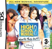 Nintendo DS High School Musical 2: Work This Out!
