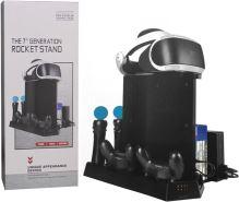 [PS4] Multifunkčný chladiaci stojan s nabíjačkou Rocket Stand (nový)