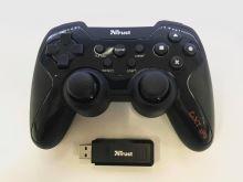 [PS3 | PC] Bezdrôtový Ovládač Trust GTX 39 na USB prijímač - čierny (estetická vada)