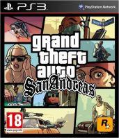 PS3 GTA San Andreas Grand Theft Auto (nová)
