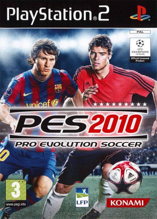 PS2 PES 2010 Pro Evolution Soccer 2010 (DE)