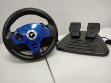 [PS2] Thrustmaster T-Blue Megapack (volant s pedálmi) (estetická vada)