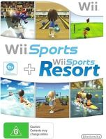 Nintendo Wii - Wii Sports + Wii Sports Resort (Bez obalu)