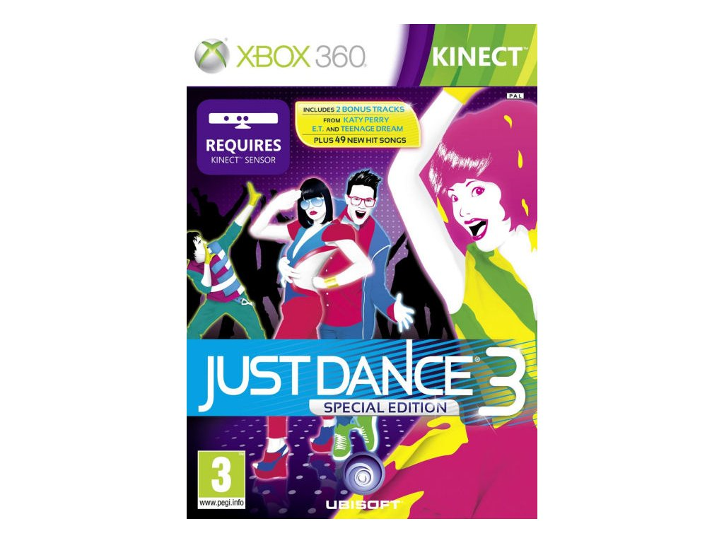 Xbox 360 Kinect Just Dance 3