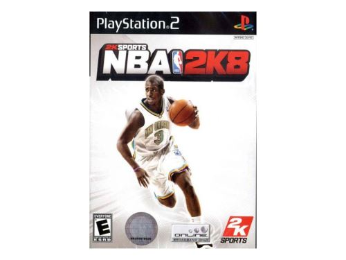 PS2 NBA 2K8 2008