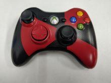 [Xbox 360] Bezdrôtový Ovládač Microsoft - čiernočervený (estetické vady)