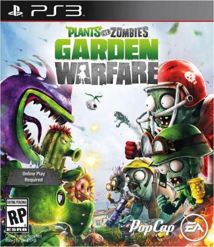 PS3 Plants Vs Zombies Garden Warfare