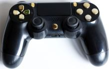 [PS4] Dualshock Sony Ovládač V2 - čiernozlatý