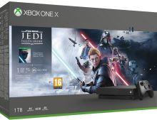 Xbox One X 1TB + Star Wars: Jedi Fallen Order Deluxe Edition (nové)
