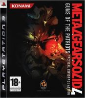 PS3 Metal Gear Solid 4 - Guns Of The Patriots