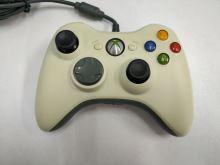 [Xbox 360] Drôtový Ovládač Microsoft - biely (žltkastý) (estetická vada)