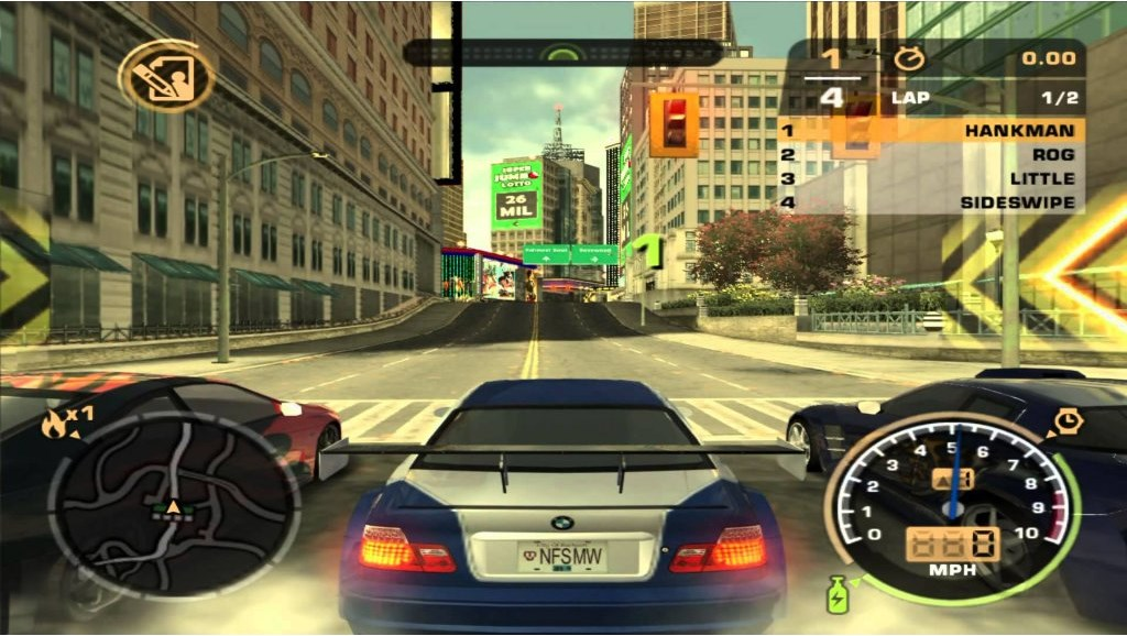 PS2 NFS Need For Speed Most Wanted