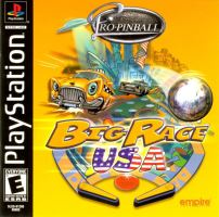 PSX PS1 Pre Pinball: Big Race USA