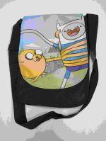 Taška Adventure Time - čierna (estetická vada)