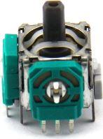 [PS4] 3D Joystick Analog Stick - Analog joystick kocky - zelená - 3-pin (nová)
