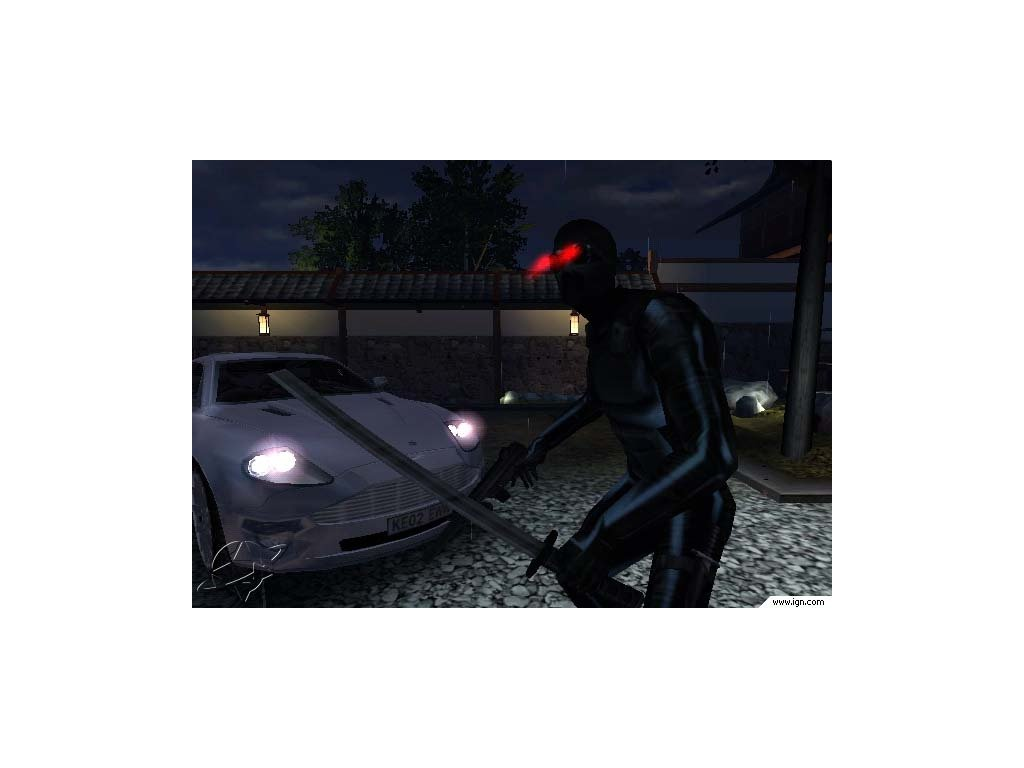 PS2 James Bond 007 Nightfire