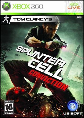 Xbox 360 Tom Clancys Splinter Cell Conviction