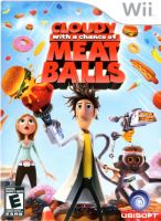 Nintendo Wii Oblačno, miestami fašírky, Cloudy With A Chance Of Meatballs