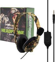 [PS4|PC] High power Bass Gaming Headset - maskáč (nový)
