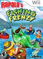 Nintendo Wii Rapala's Fishing Frenzy