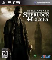 PS3 The Testament Of Sherlock Holmes