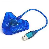 [PS2] HUB a PC, PS3 Converter modrý