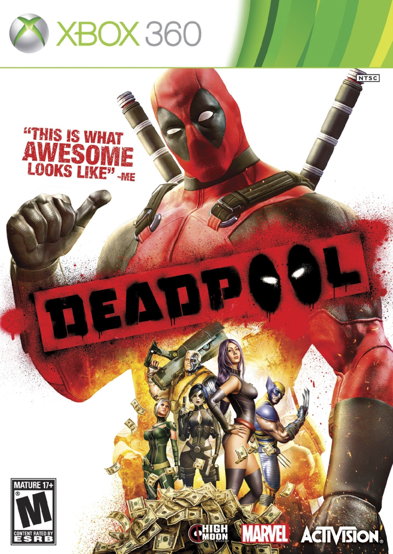 Xbox 360 Deadpool The Game