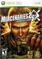 Xbox 360 Mercenaries 2 World In Flames