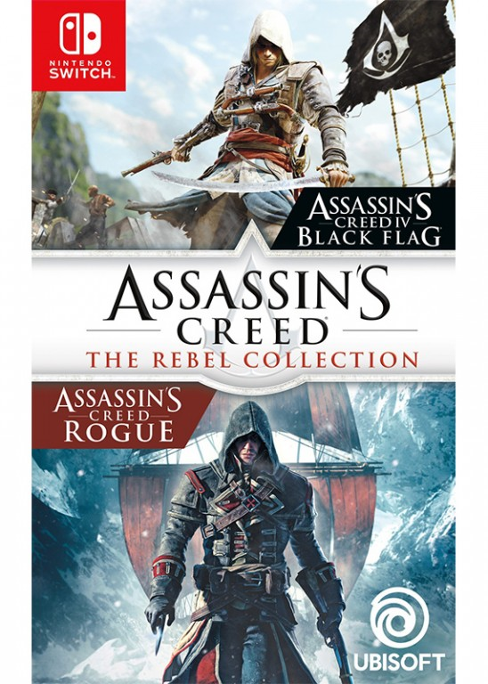 Nintendo Switch Assassins Creed The Rebel Collection (nová)