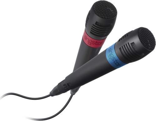 [PS2   PS3   PS4] 2x Mikrofón Singstar Drôtový