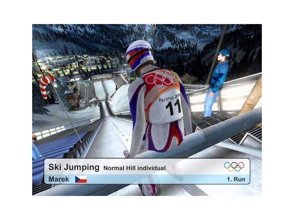 PS2 RTL Ski Jumping 2004