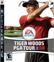 PS2 Tiger Woods PGA Tour 08