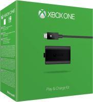 [Xbox One] Microsoft Akumulátor 1400mAh Play & Charge Kit + USB kábel (nové)