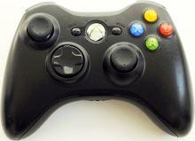 [Xbox 360] Bezdrôtový Ovládač Microsoft - čierny (rôzne estetické vady)