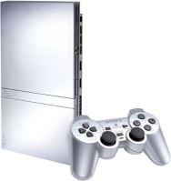 PlayStation 2 Slim Strieborný