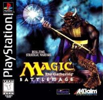 PSX PS1 Magic the Gathering Battlemage