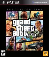PS3 GTA 5 Grand Theft Auto V - Special Edition