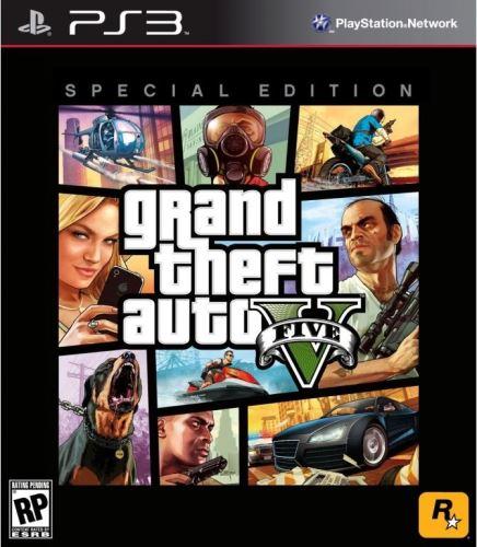 PS3 GTA 5 Grand Theft Auto V - Special Edition