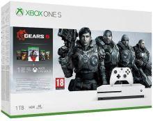 Xbox One S 1TB (Plná verzia s DVD mechanikou) + Gears of War 5 (nové)