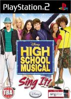 PS2 Disney Sing It: High School Musical