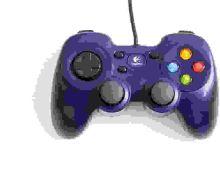 [PS3] Drôtový Ovládač Logitech F310 - tmavě modrý (estetické vady)