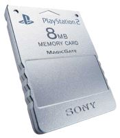 [PS2] Originálne pamäťová karta Sony 8MB (strieborná)