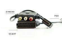 PSX Kábel AV a SCART