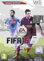 Nintendo Wii FIFA 15 2015 (DE)