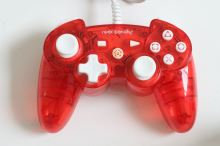[PS3] [PC] Drôtový Ovládač Rock Candy - červený (estetická vada)