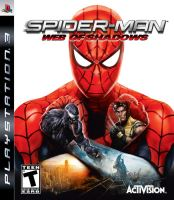 PS3 Spider-Man Web Of Shadows (bez obalu)
