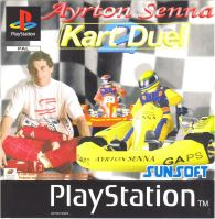 PSX PS1 Ayrton Senna Kart Duel 2