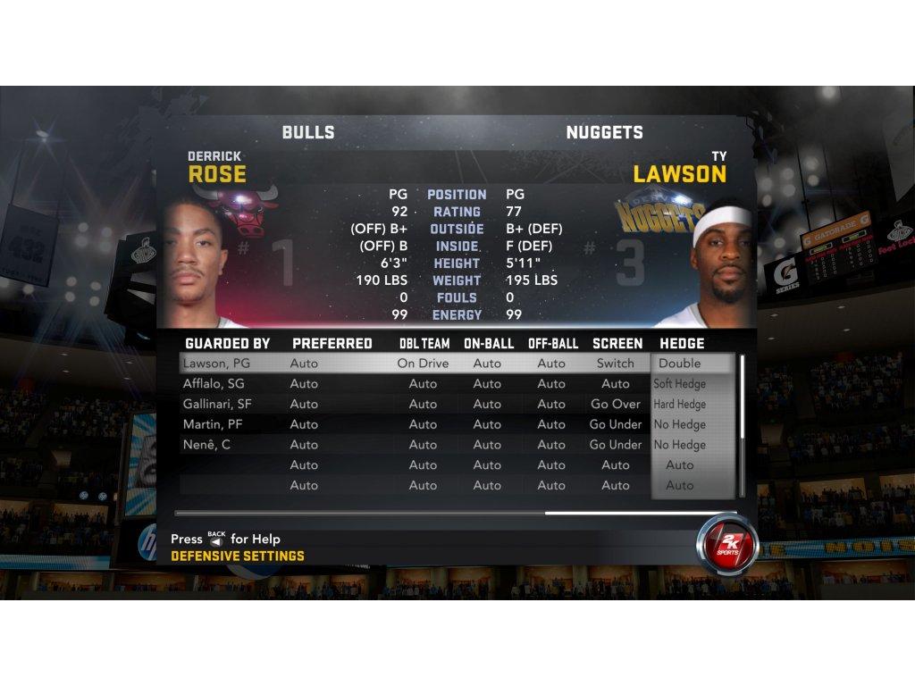 PS2 NBA 2K12 2012