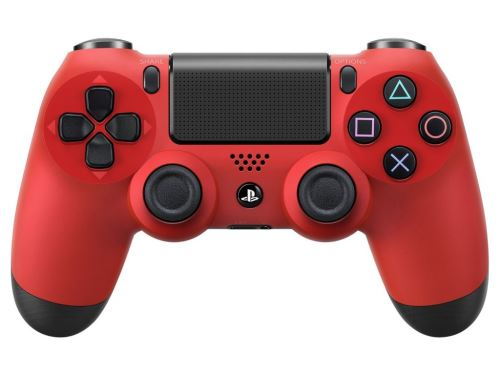 [PS4] Dualshock Sony Ovládač - červený