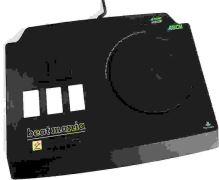 [PS1] Drôtový Ovládač Konami Ascii Beatmania - čierny (estetická vada)
